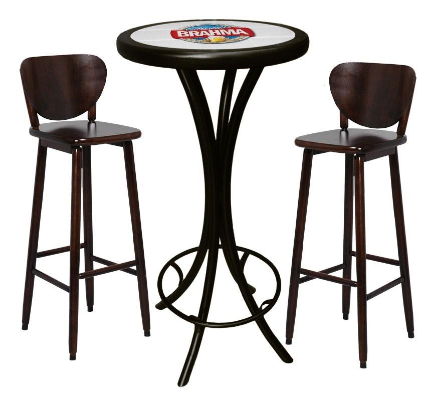 Bistro Mesa Alta Banquetas Brahma Chopp Cervejas Bar  R 88910 em Mercado Livre