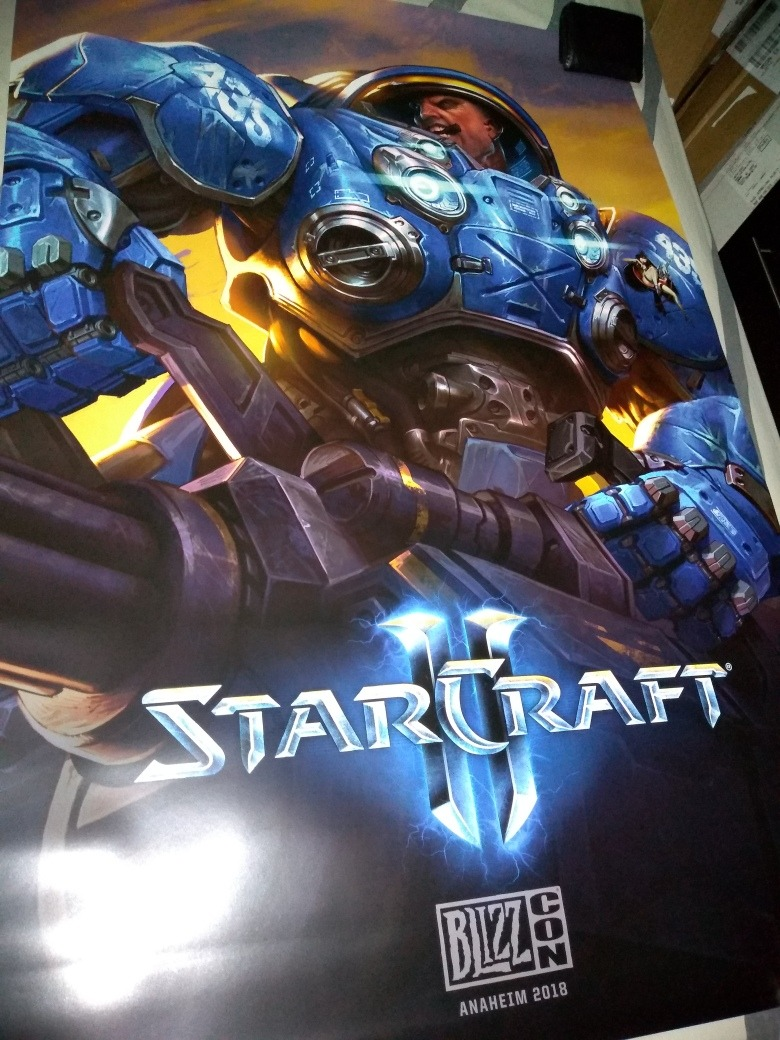 blizzcon 2018 poster tychus