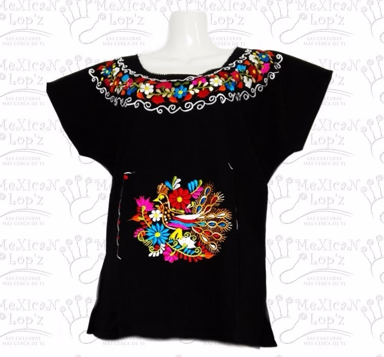Blusas Bordadas De Mexico