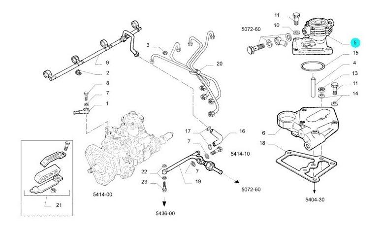 Bomba De Combustível Manual Iveco Daily 6012 / 7012