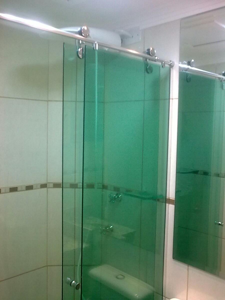Box Para Banheiro Em Vidro Temperado Vrios Modelos  R