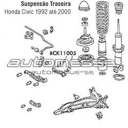 Bucha Braço Superior Traseiro Honda Civic 97 1998 1999