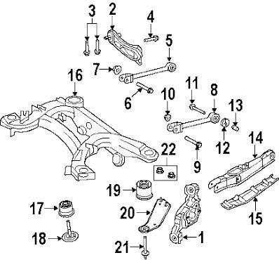 Buje Suspension Trasera Chrysler 200,avenger,journey