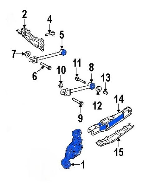 Bujes De Suspension Trasera Avenger 12 Pzs 2008 2010