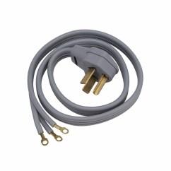 Dryer Power Cord Wiring Diagram 2010 Dodge Journey Horn Cable Para Secadora O Cocina 220 Voltios 30 Amperios