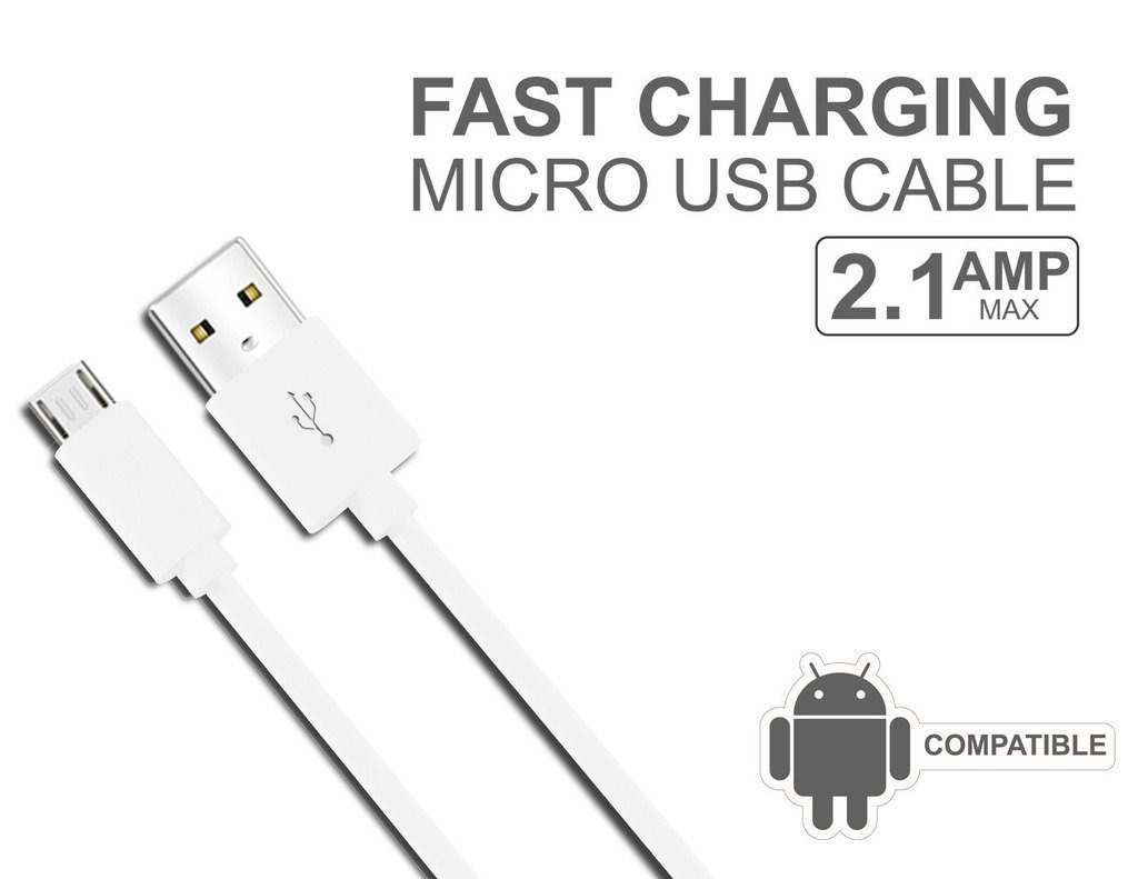Cable V8 Android Micro Usb Android Carga Rapida Celulares