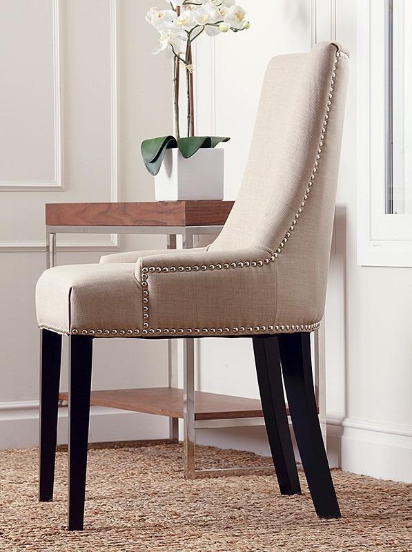 Cadeira De Jantar Com Tachas Moveis Jowilli Gramado  R