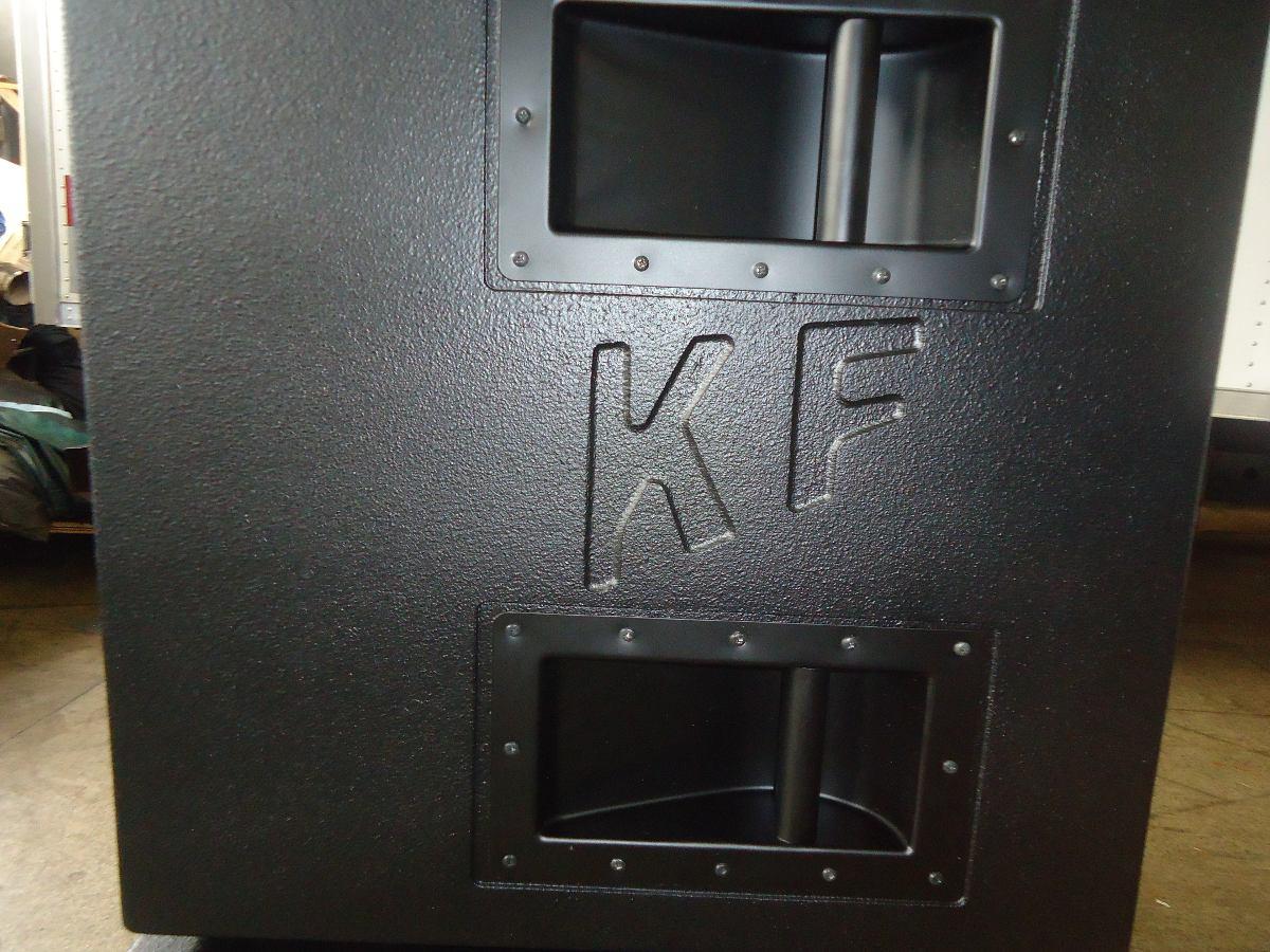 Caixa De Som Sub Grave 2x18 Marca Kraft  R 255000 em