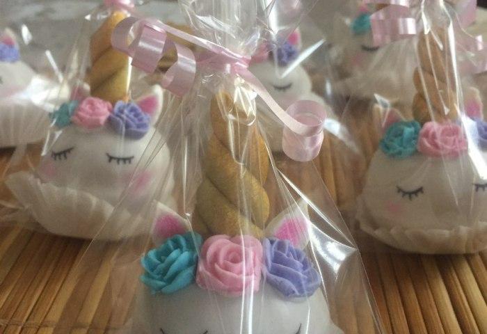 Cake Pops De Unicornio