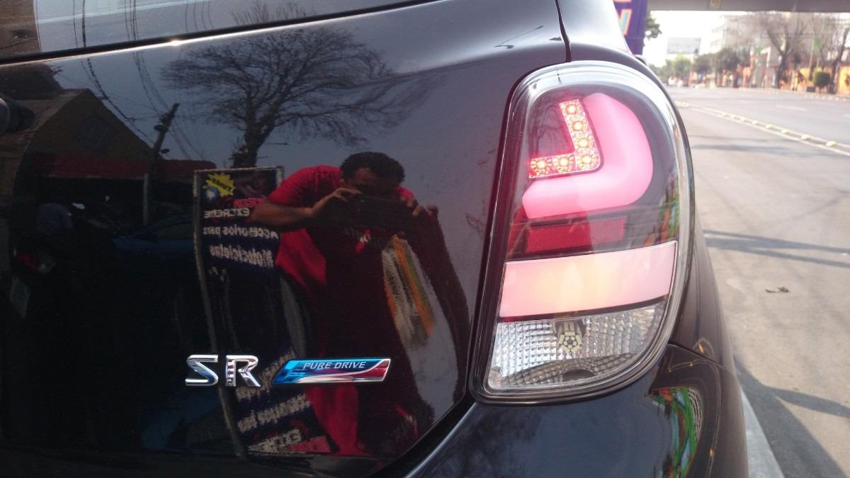 Calavera Deportivas De Leds Nissan March   258300 en