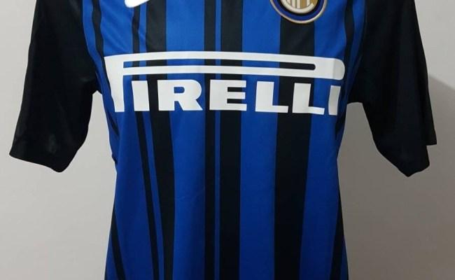 Camisa Nike Inter De Milão 17 18 Nova Linda R 98 00