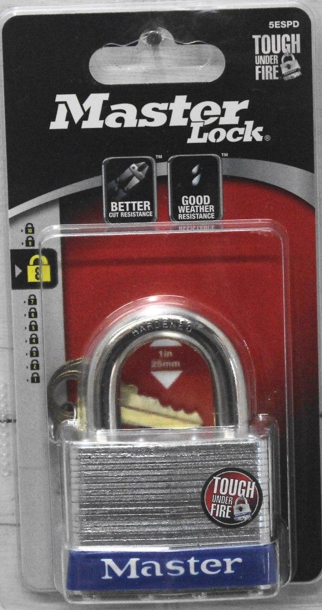 Candado De Alta Seguridad 25 Mm X 51 Mm Mster Lock 5espd   42900 en Mercado Libre