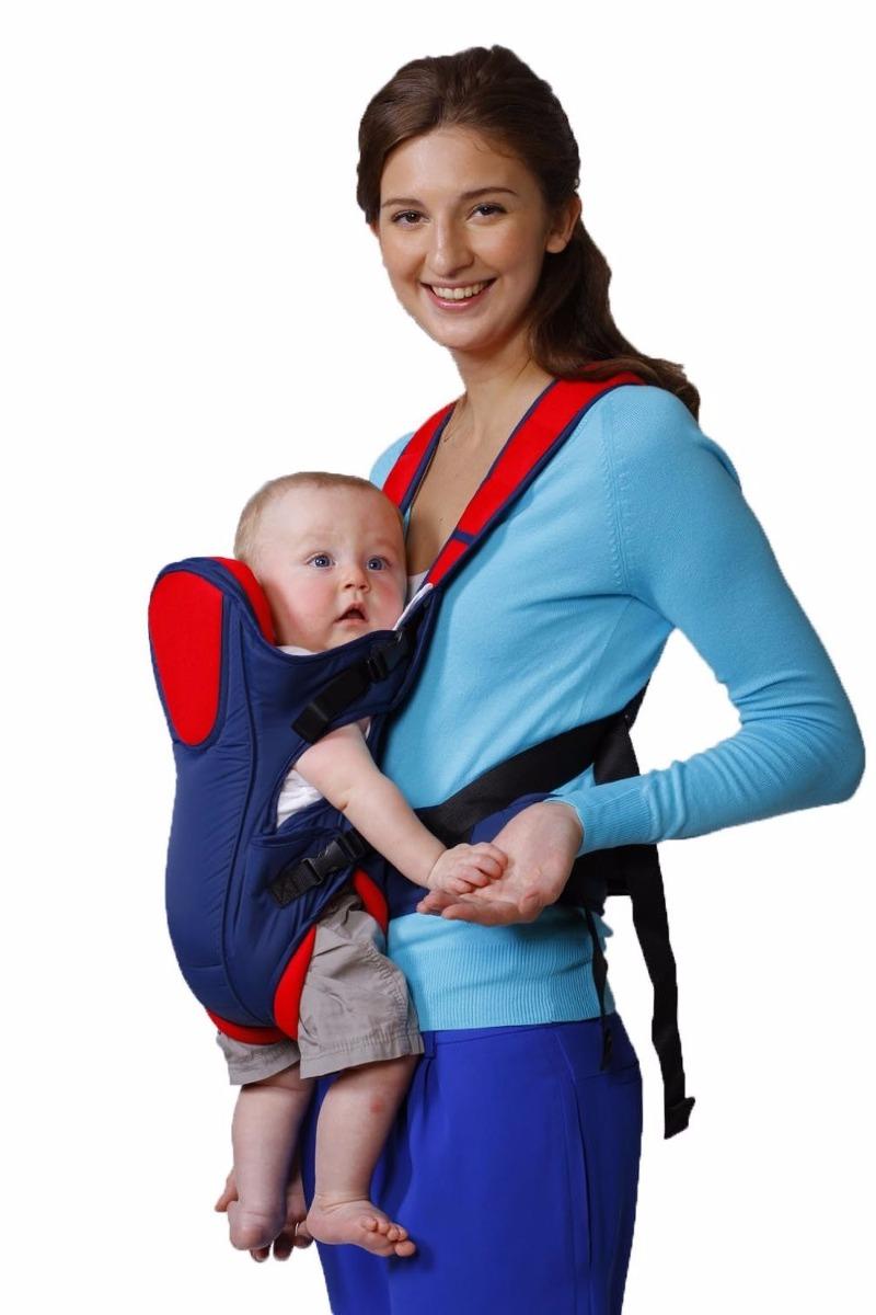 Cangurera Para Bebe Ergonomica Elegante Y Segura Baby