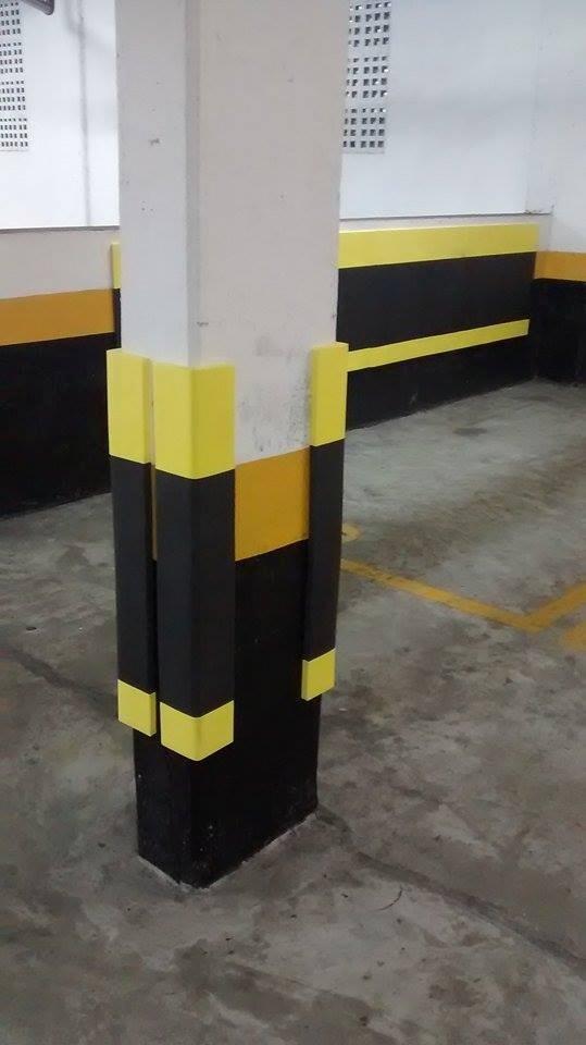 Cantoneira De Eva Para Coluna De Garagem 15mm  R 3200
