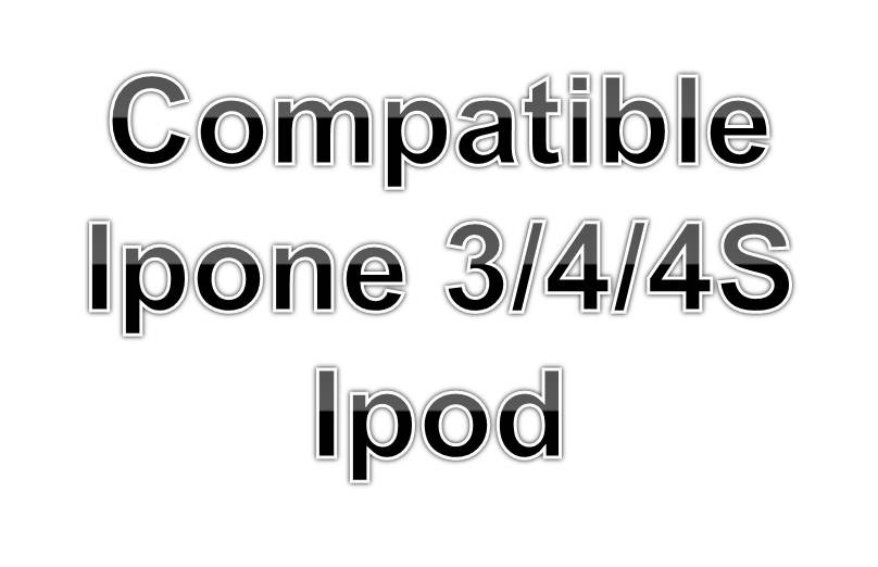 Cargador Pared Y Cable Datos Para Iphone 4/4s/3 Y Ipod