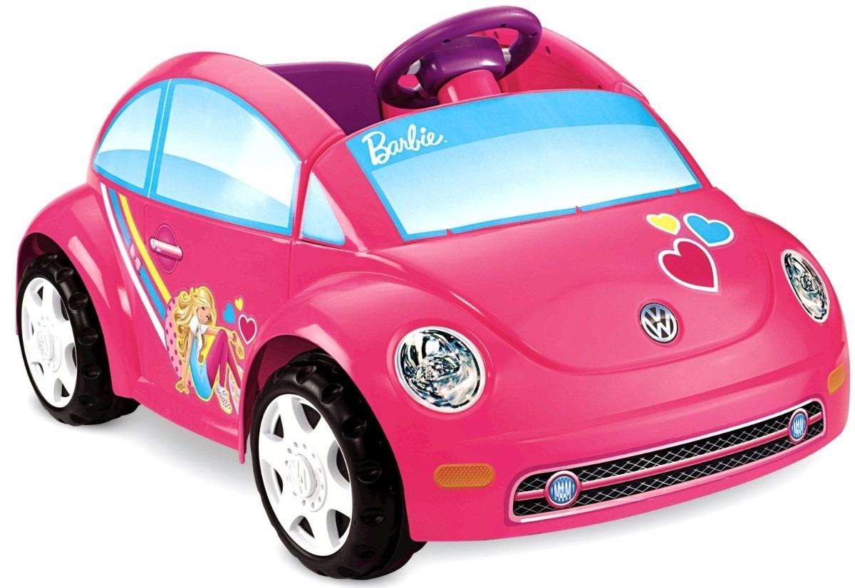 Carrito Nia Fisherprice Power Wheels Barbie Volkswagen Hm4   379900 en Mercado Libre