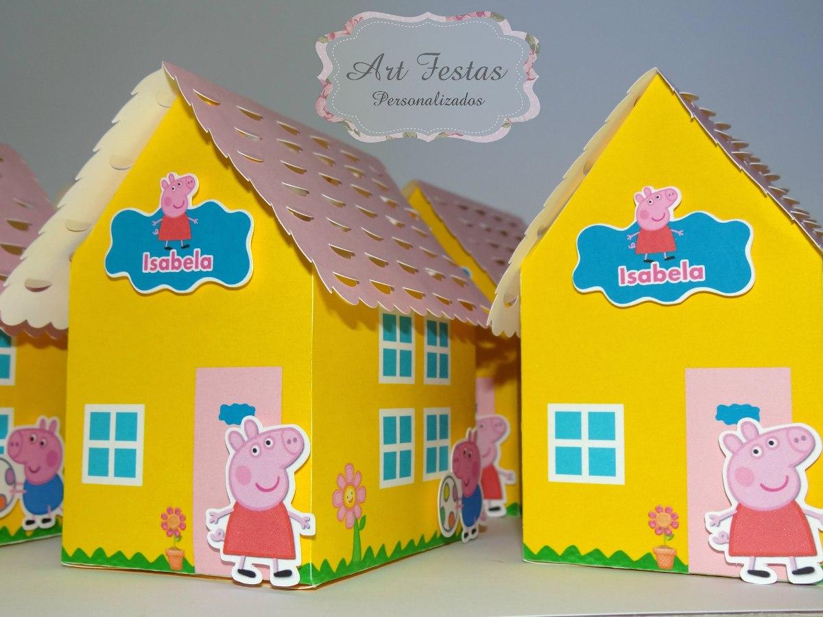 Casa Da Peppa Pig  Festa Infantil  R 5900 em Mercado Livre