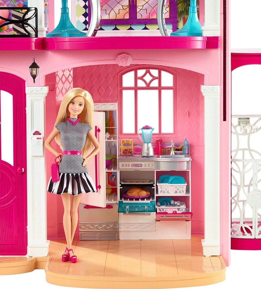 Casa De Muecas Barbie Casa De Los Sueos Incluye Envio