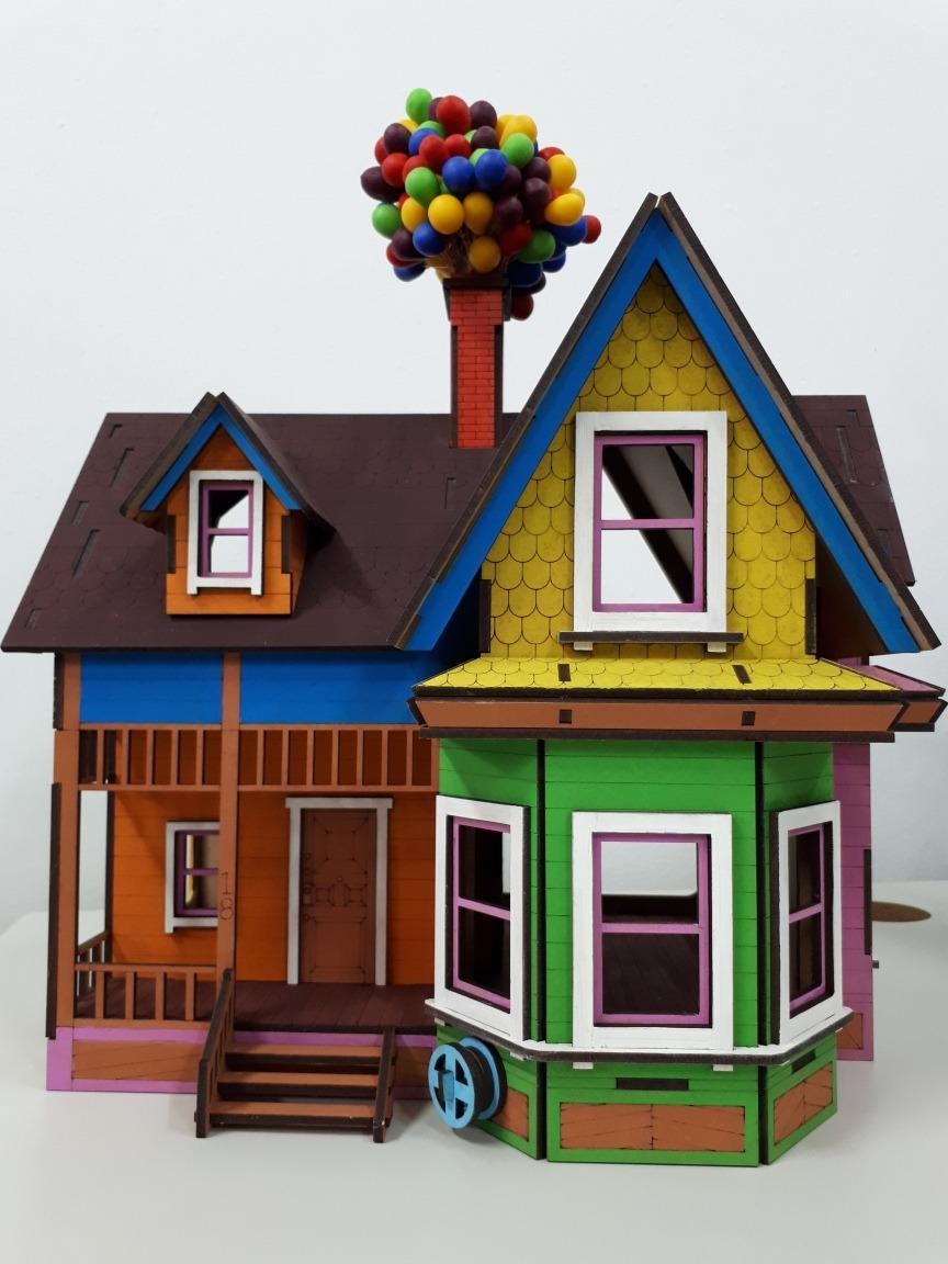 Casa Up Altas Aventuras Em Mdf  R 32000 em Mercado Livre