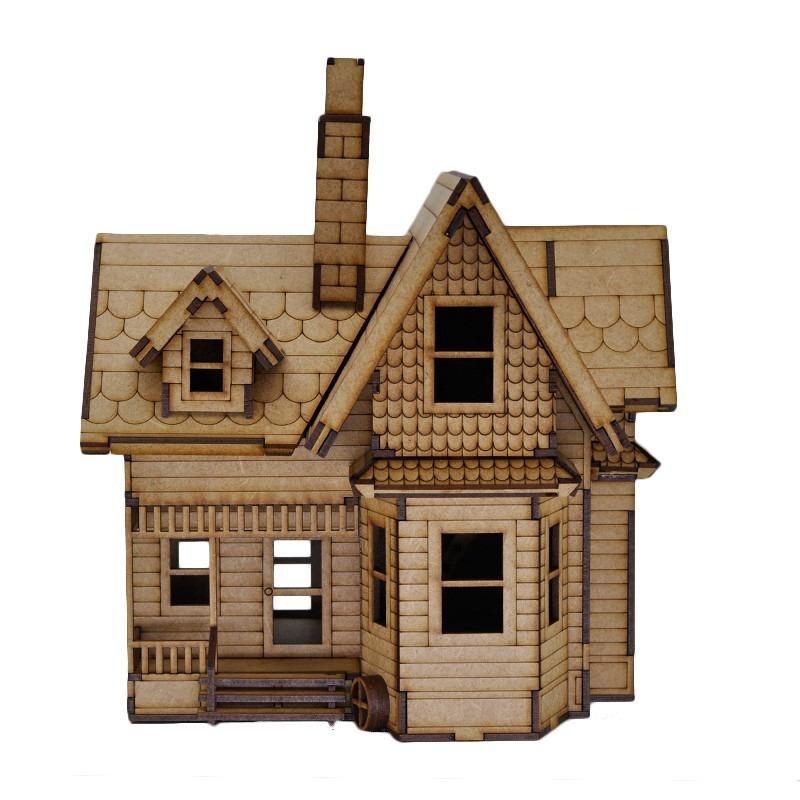 Casa Up Altas Aventuras Quebra Cabea 3d Miniatura Em Mdf  R 9900 em Mercado Livre