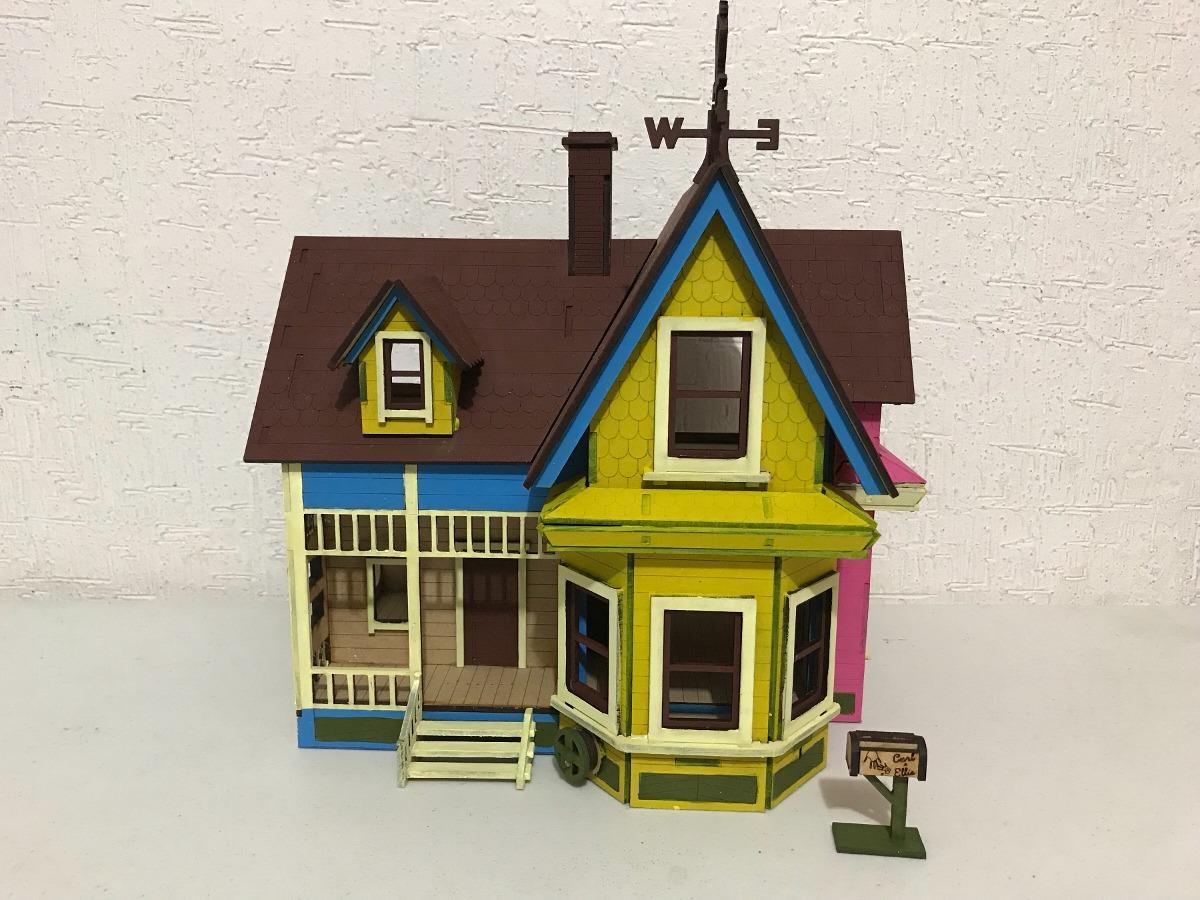 Casa Up Doll House Mdf 3mm Corte Lserideal Para Obseq   70000 en Mercado Libre