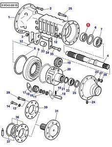 Catálogo De Peças Para Colheitadeira New Holland Cr 6080