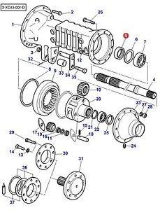 Catálogo De Peças Para Colheitadeira New Holland Cs 660