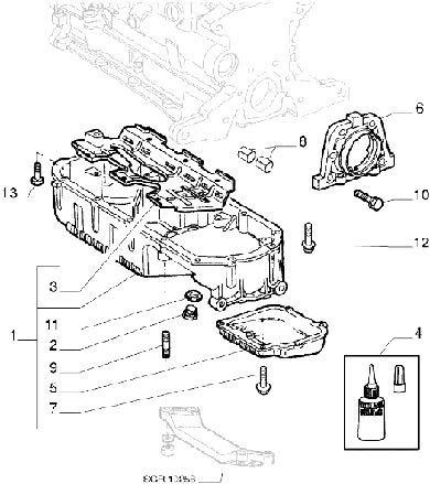 Catálogo Peças Alfa Romeo 156 2.0 Twin Spark 16v 1999
