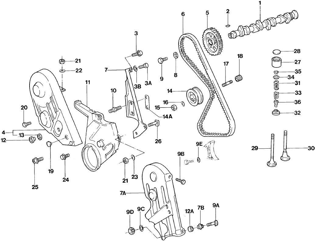 Catálogo Peças Volkswagen Gol Quadrado Ae Ap At 1980