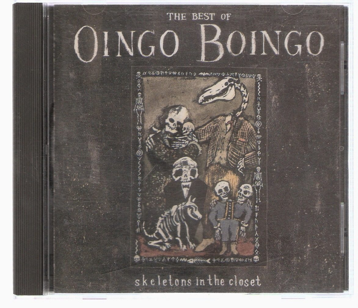 Cd Oingo Boingo The Best Of Skeletons In The Closet Usa