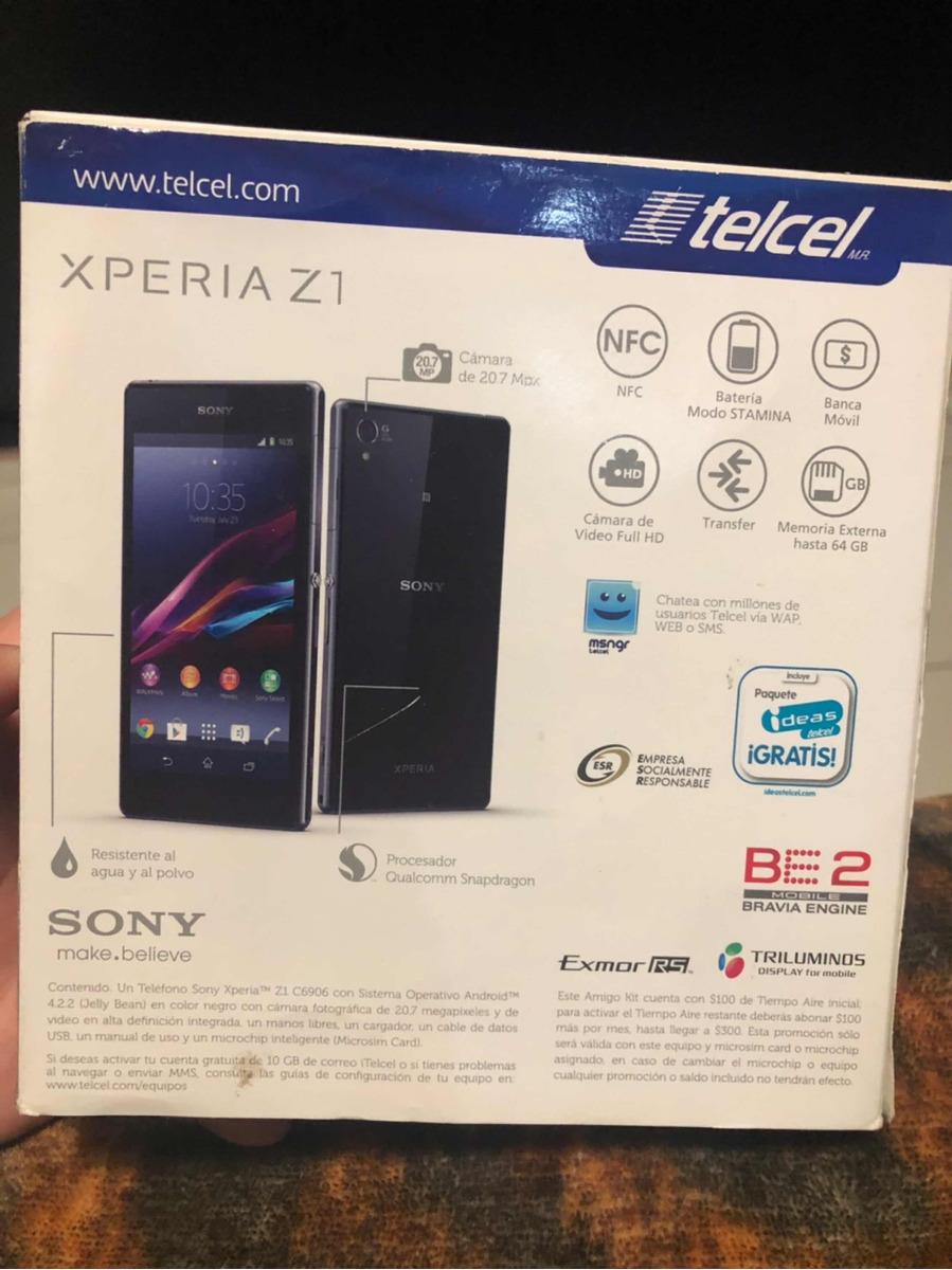 f846c0b4b98 Moviles Libres Sony Xperia Z1   Original Para Sony Xperia Z1 Lcd ...