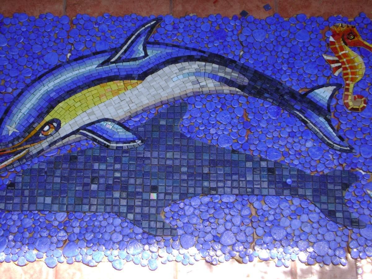 Cenefas En Mosaico Veneciano 100 Kolorines no Chino
