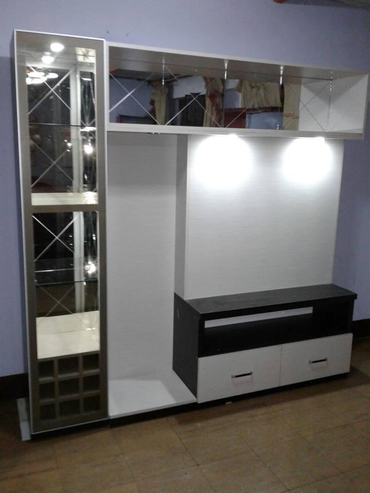 Centro De Entretenimiento Modernos De Melamine  S 80000