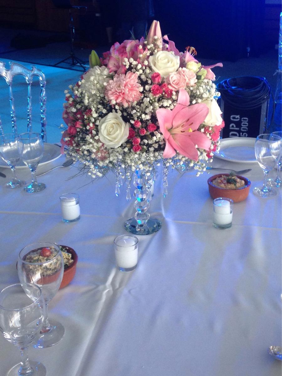 Centro De Mesa Flores Naturales Casamiento 15 Aos