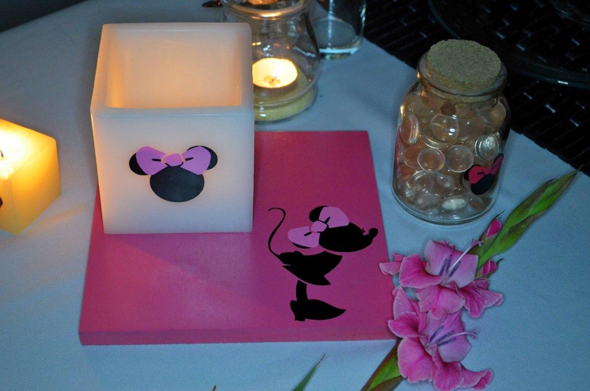 Centro De Mesa Minnie Mouse Fiusha Aluzza   12000 en