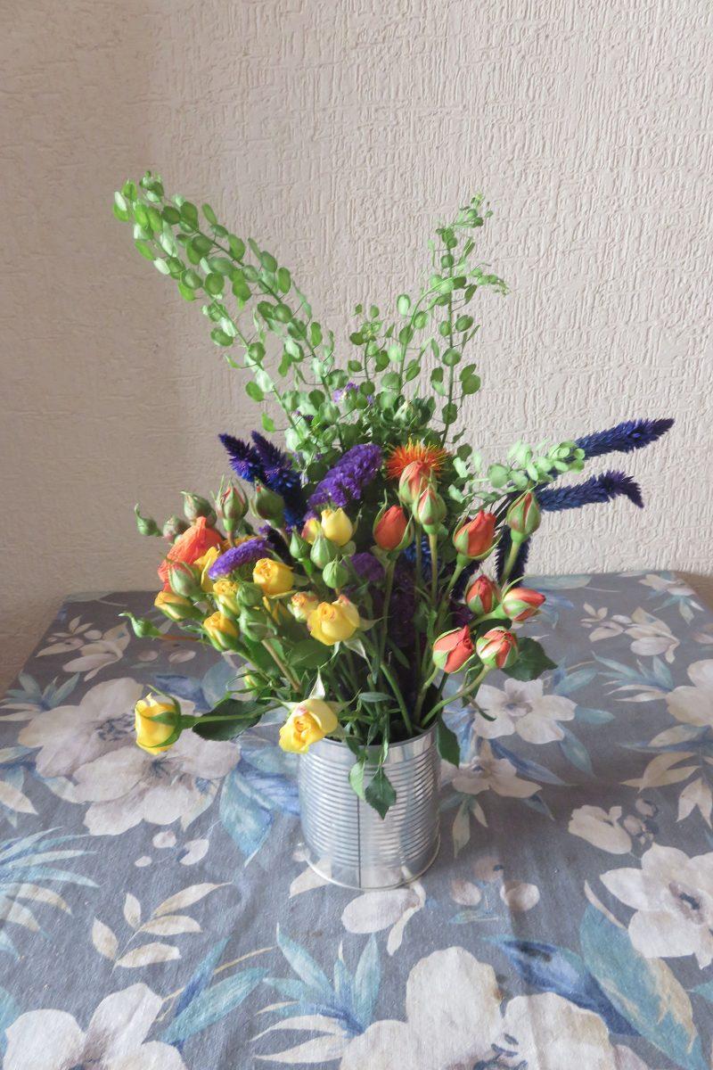 Centros De Mesa Arreglos Florales Para Bodas Fiestas Y Ms   8000 en Mercado Libre