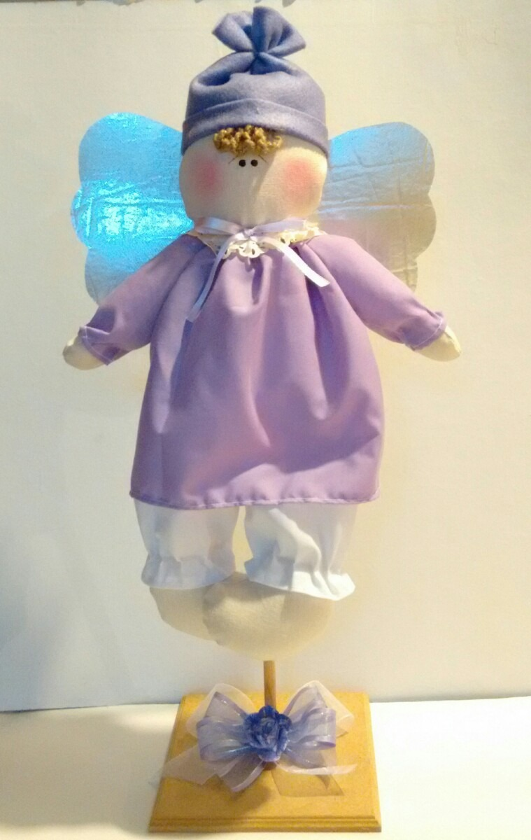 Angel Para Centros De Mesa De Baby Shower Bautizo   120