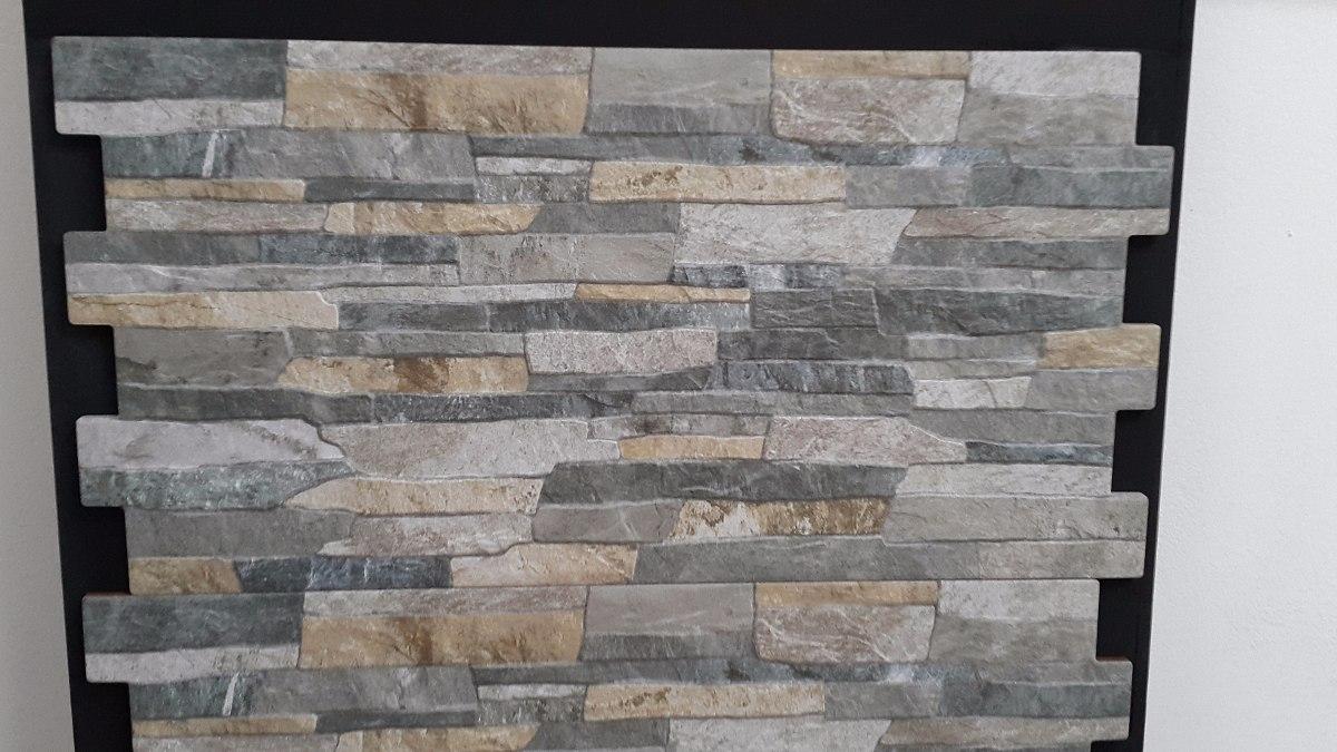 Ceramica Imitacion Piedra Full Hd Color Gris  US 3000