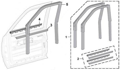 Chevrolet S-10 Cañuelas Empaques Botaguas Originales