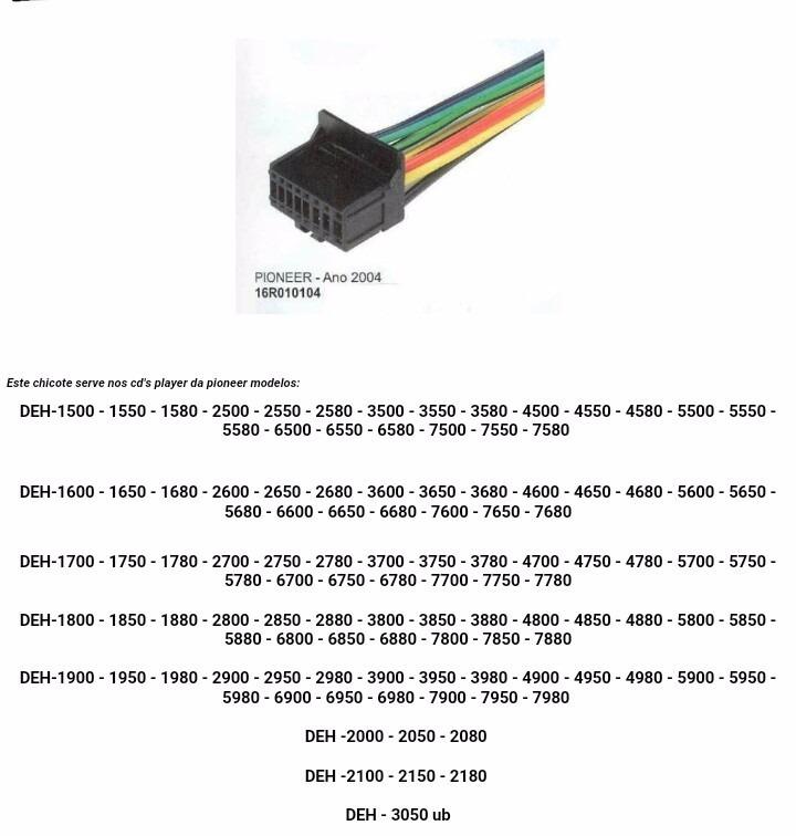 chicote de alimentacao para pioneer deh 7650 7680 1700 1750 D_NQ_NP_564411 MLB20572508836_022016 F?resize\\\=665%2C698\\\&ssl\\\=1 pioneer deh 4300ub wiring diagram gandul 45 77 79 119 pioneer deh 3300ub wiring harness at cos-gaming.co