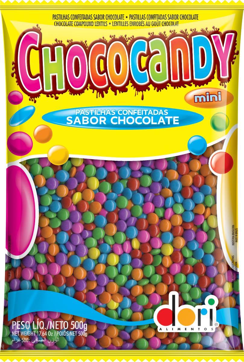 Chocolate Confeitos Chococandy 500g Tipo Confete M&m - R$ 19.00 em Mercado Livre
