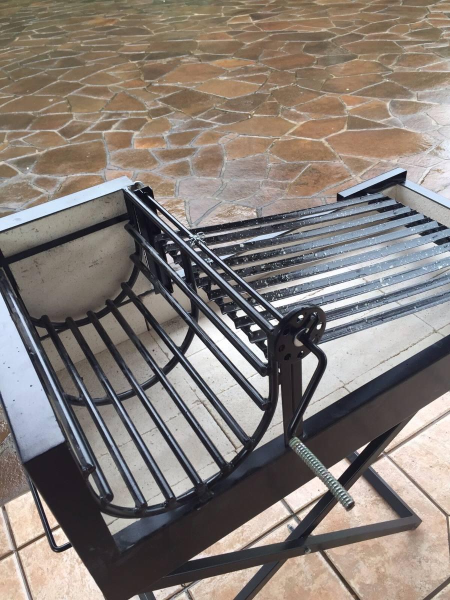 Churrasqueira Parrilla Porttil Lenha Ou Carvo C Nf  R 130000 em Mercado Livre