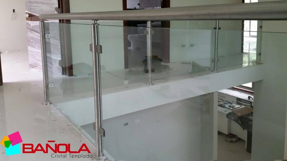 Clip O Conector Muro Vidrio Para Cristal Templado 8 A 12mm