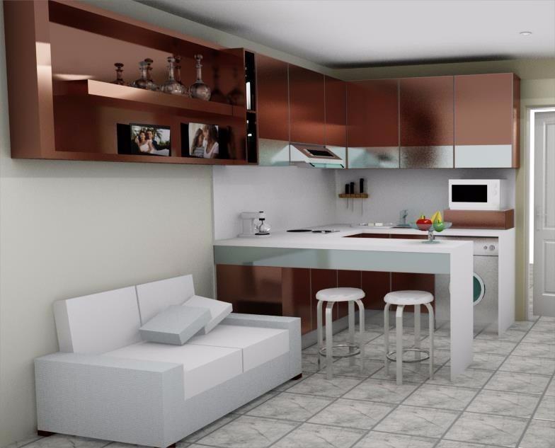 Closet Modernos cocinas Integrales   450000 en Mercado