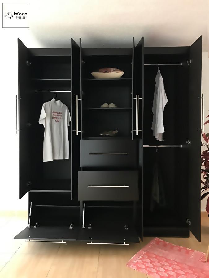 Closet Ropero Modular Minimalista Mod Egipto 1 80m Moderno