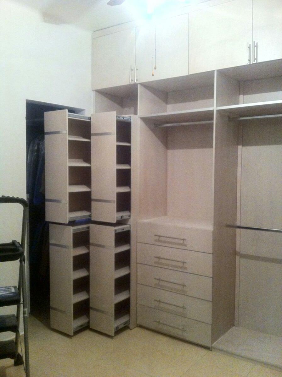 Closet Sobre Medida Hasta 180 De Largo X 240 Alt
