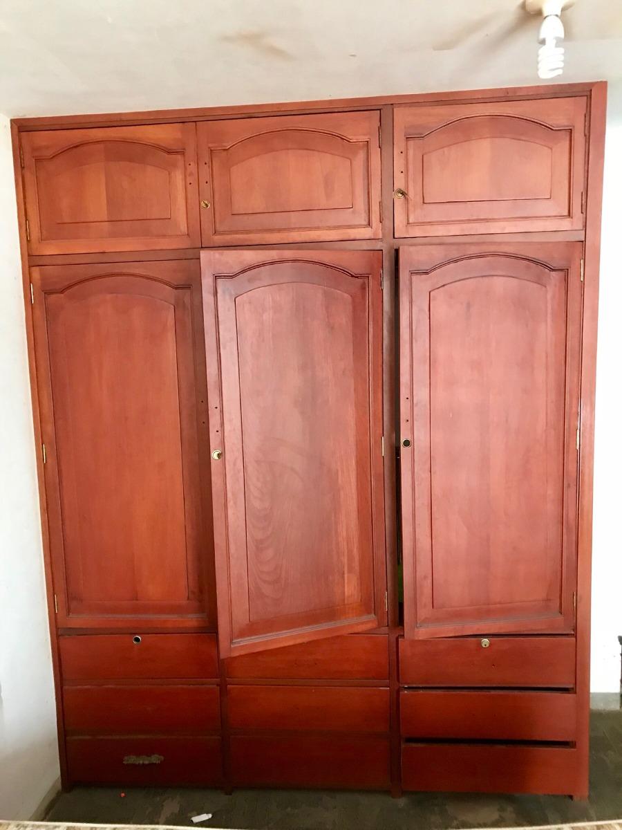Closets De Madera Cedro 3 Puertas  S 39900 en Mercado Libre