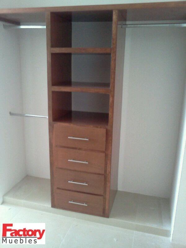 Closets Muebles De Madera   350000 en Mercado Libre