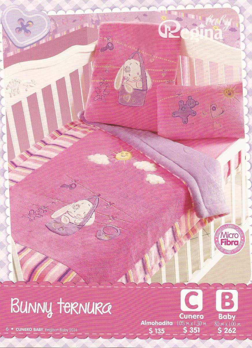 Cobertor Edresoft Cunero Regina A G   38900 en