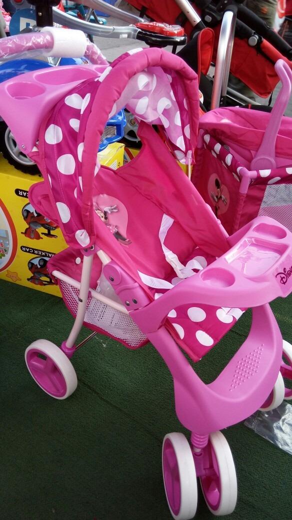Coche Minnie Para Muecas Bebesit Disney A Escala Muy